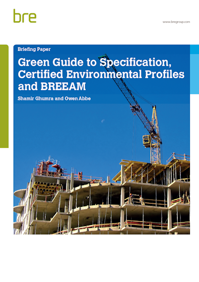 Green Guide Briefing Paper Cover