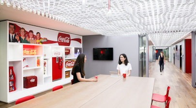 Noda Fit-Out for Coca-Cola France