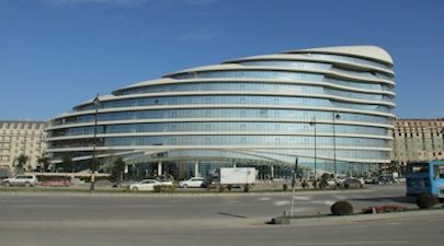 Baku White City, Azerbaijan