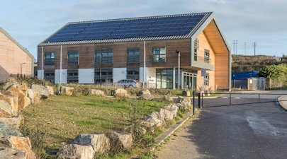 Hayle Marine Renewables Business Park, Cornwall, UK