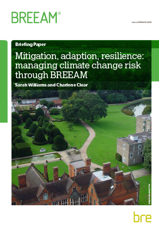 Mitigation Adaption Resilience