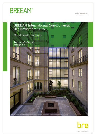 BREEAM International Refurbishment and Fit out