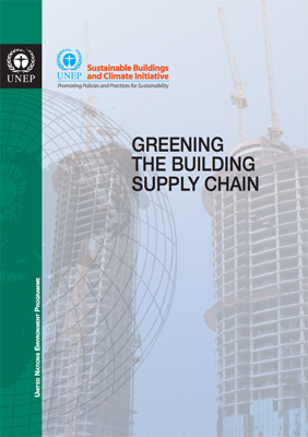 Greening the Building Supply Chain